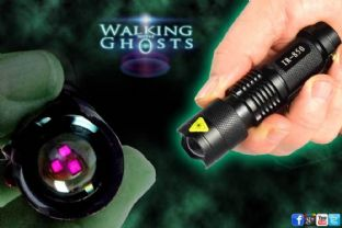 3W Zoom Flashlight Torch Light IR Infrared Night Vision Ghost Hunt Paranormal UK